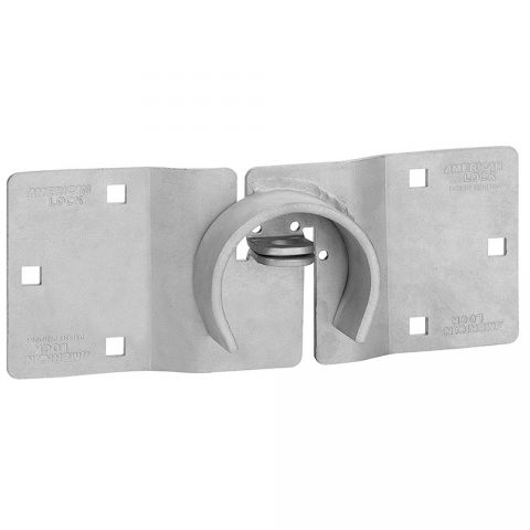 "American Lock 11-7/16"" Hidden Shackle Padlock Trailer Hasp"