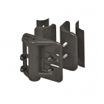 Nationwide Industries Cornerstone Fully Adjustable Self-Closing Nylon Hinge, Round Post (CH200FR-P)