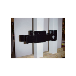 DAC Industries Chain Link Fence Strong Arm Latches for Double Gates - Black (STRONG-ARM-DBL-COLOR)
