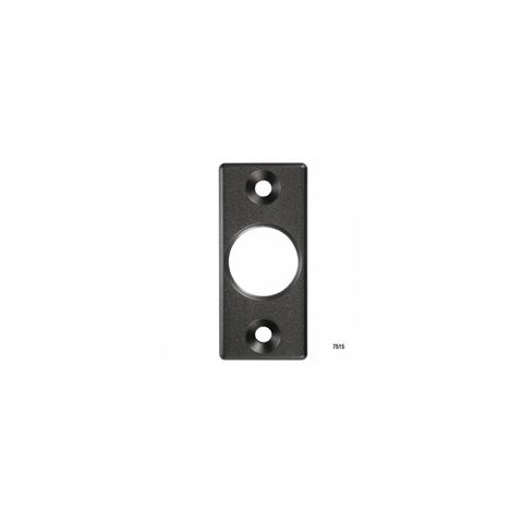 D&D Technologies SureClose - 6026-05 - Post Mounting Bracket, Flush Mount - Aluminum