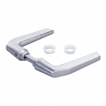 Locinox 3006M-H Handle Pair in Aluminum for Hybrid Locks