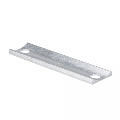Locinox Adapter Plate, for Keeper, Square to Round, Aluminum