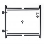 Jewett-Cameron 2-Rail Single Adjust-A-Gate, 50