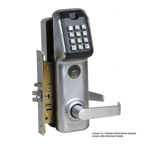 Linear LS-1 Stand Alone Keypad Access Control with Mortise Lockset