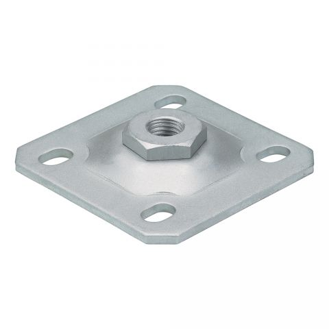 Locinox Threaded Wall Plates for Hinge Axles