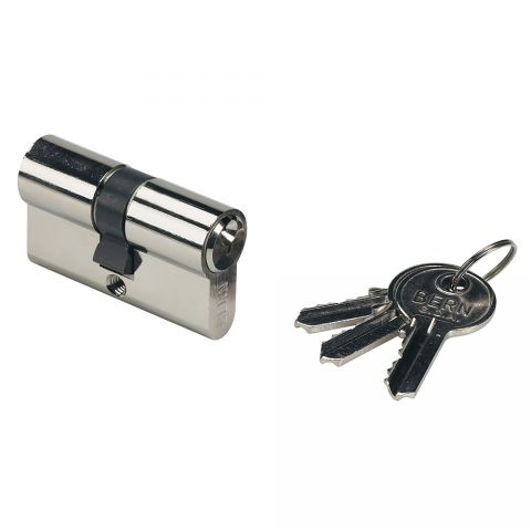 "Locinox 3012GSX Lock Cylinder, 54mm, Keyed Alike, w/3 Keys for ""H"", ""U"", ""V"" and ""Hy"" Locks"