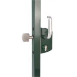 Locinox LSKZU2 Sliding Gate Lock On Gate Frame