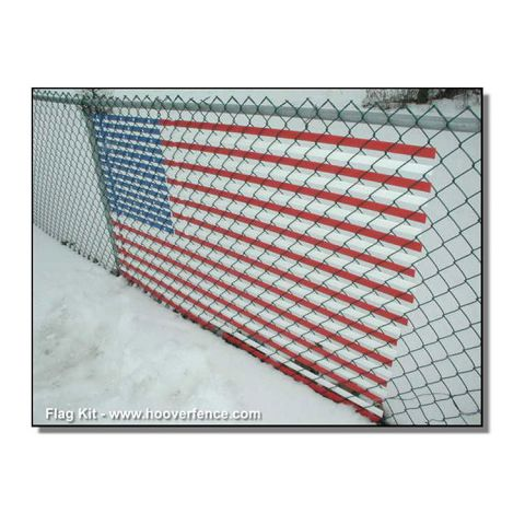 "Flag Kit - 4' x 6' (fits 2"" or 2-1/4"" chain link mesh)"