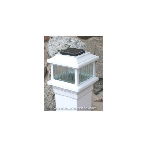 Aurora Deck Lighting Polaris Solar LED Lighting Post Caps