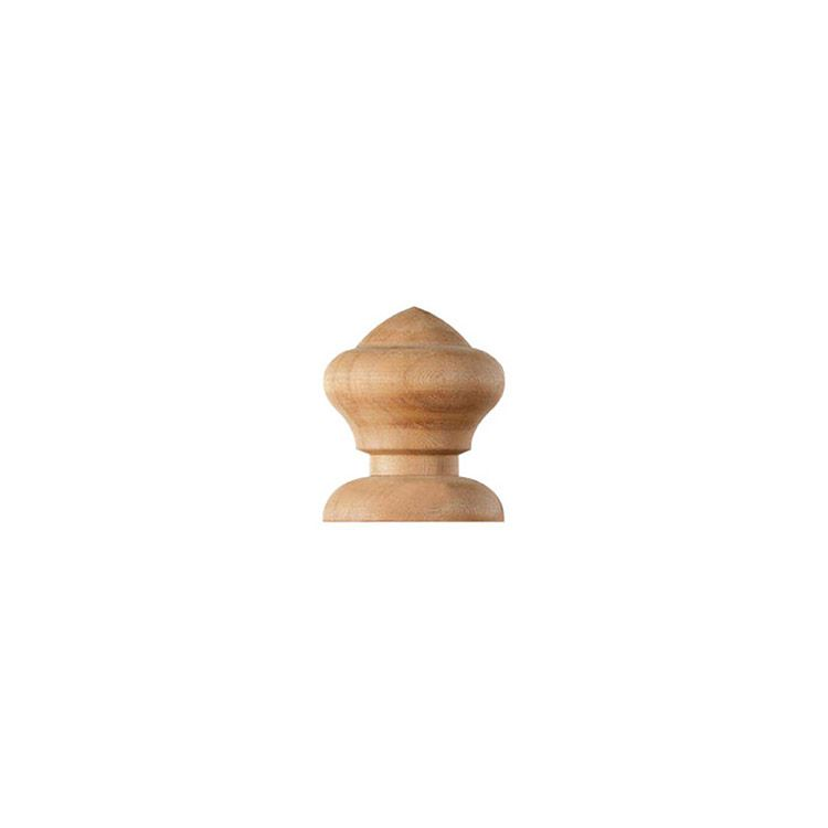 Nantucket Post Cap Nantucket Acorn Finials for Wood Posts