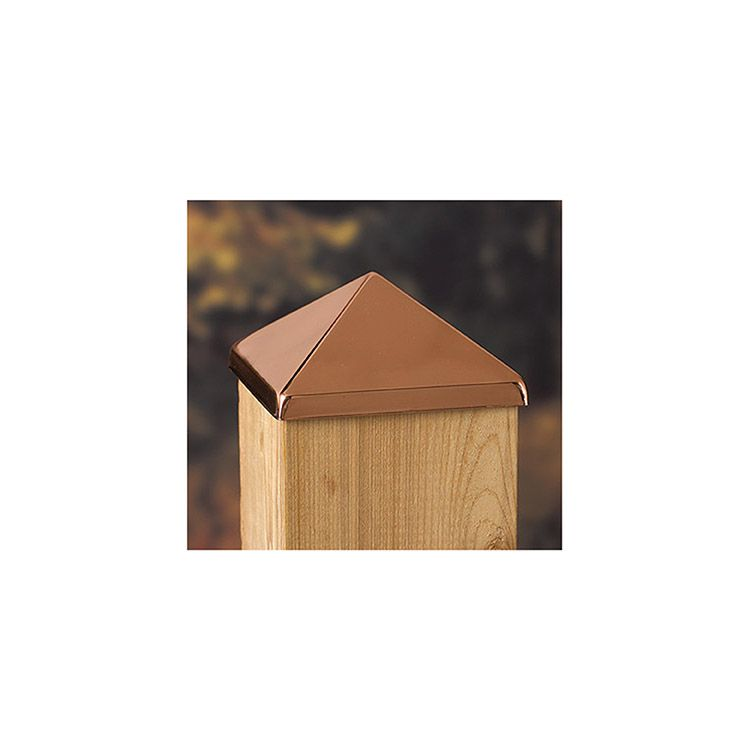 Decorative Metal Post Points for Wood Posts
