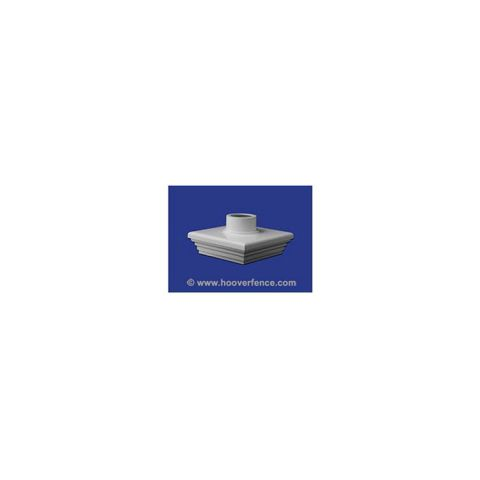 LMT Sq. Adapter Cap - 5x5 - White