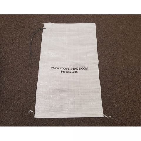 Hoover Fence Sand Bag w/ Tie