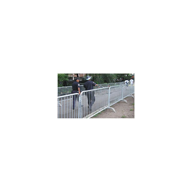 Portable Aluminum Fencing : Portable temporary fencing and crowd control hoover