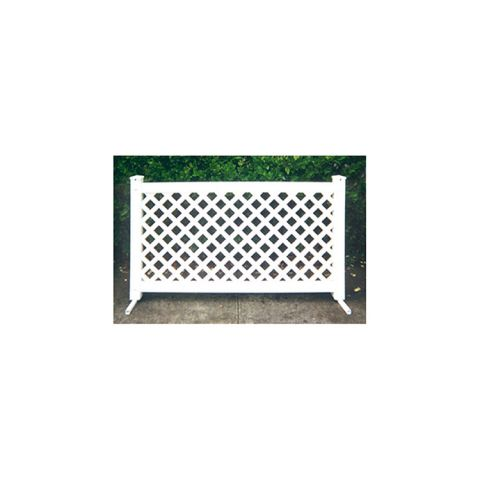 Signature Fencing Special Event Portable PVC Fencing - Lattice Style