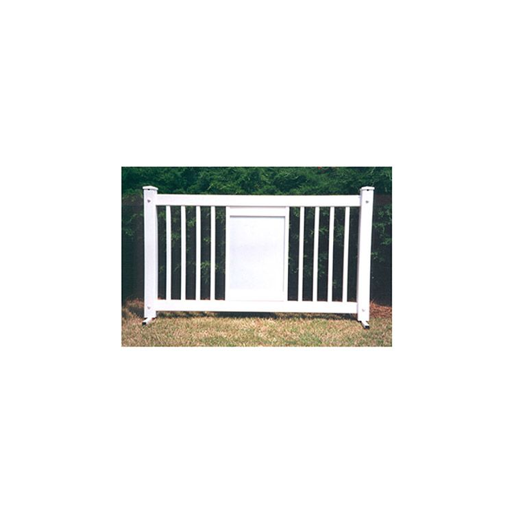 Signature Fencing Special Event Portable PVC Fencing - Display Style