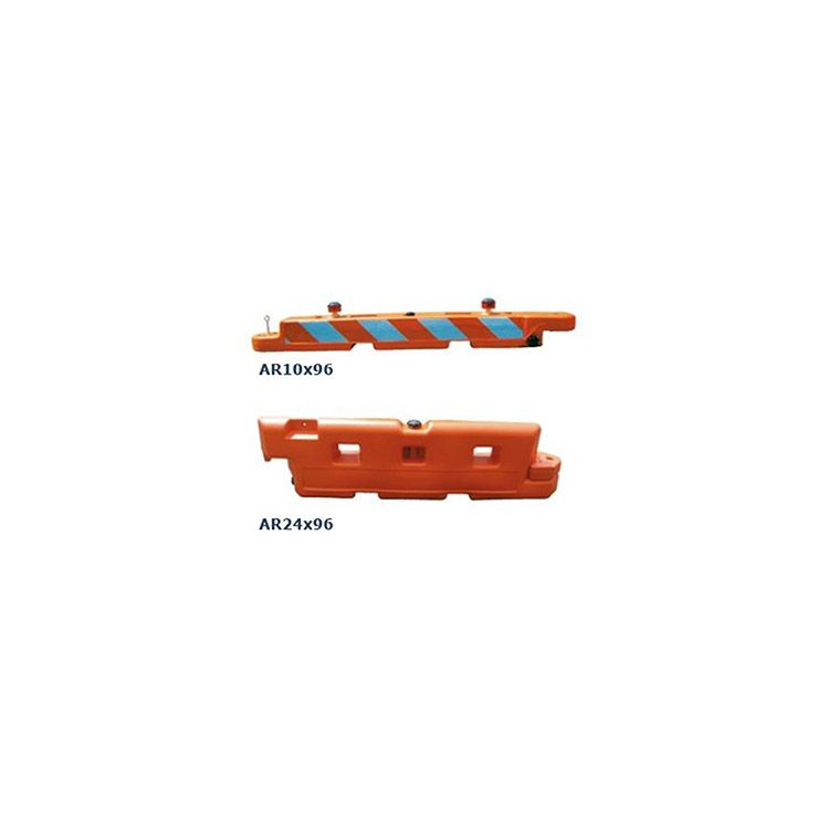 OTW Safety Low Profile Airport Runway Water-Filled Barricades