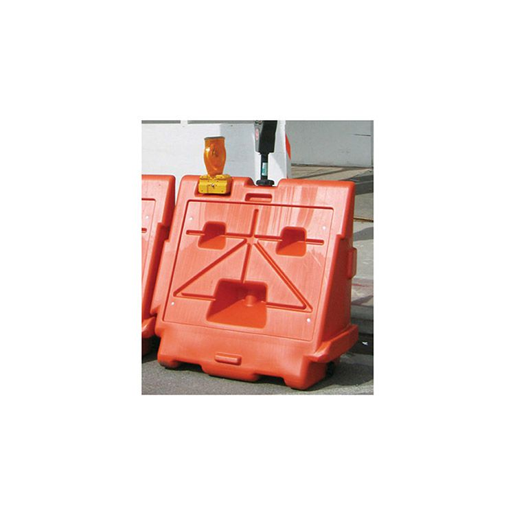 "OTW Safety Roadway Safety Water-Filled Barricade - 42""x45"" - Orange"