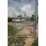 Hoover Fence Industrial Chain Link Fence Single Gates, All 2