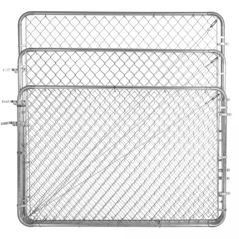 Jewett-Cameron Fit-Right Adjustable Chain Link Fence Walk Gate Kits