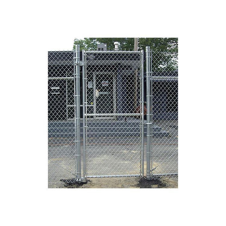 Hoover Fence Industrial Chain Link Single Gates All 2