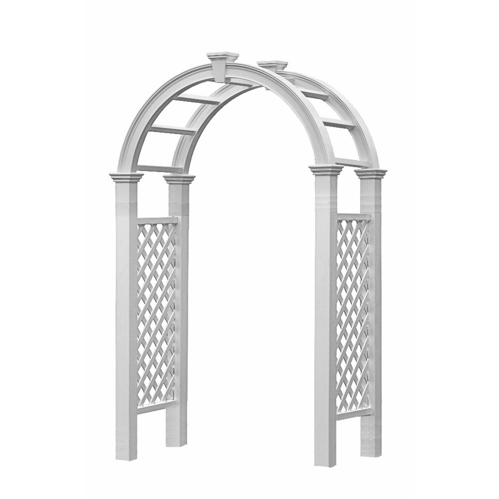 New England Arbors Nantucket Legacy Arbor   Hoover Fence Co.