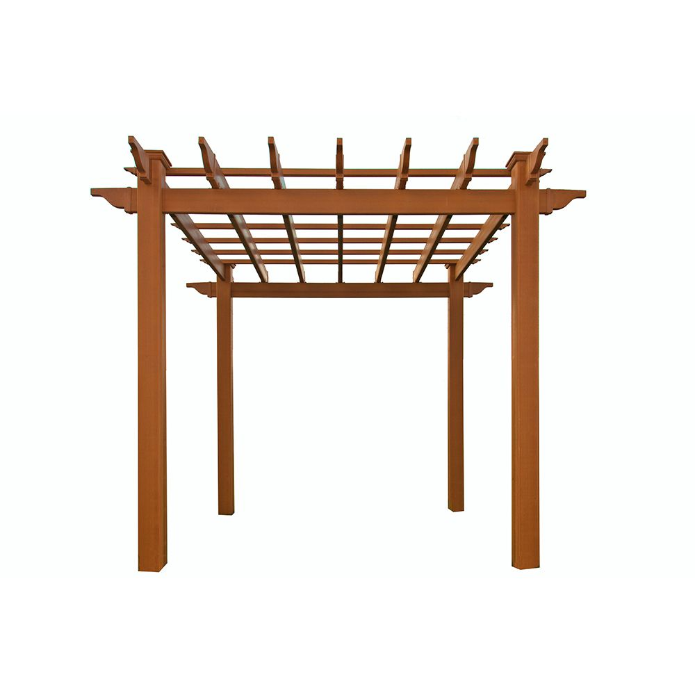 New England Arbors Lakewood Composite Pergola (VA84044)