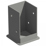 New England Arbors Galvanized Steel Bolt Down Bracket System (UL-BDBS-P)