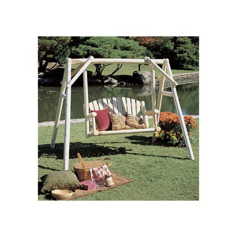 Rustic Cedar Furniture 4' American Garden Swing