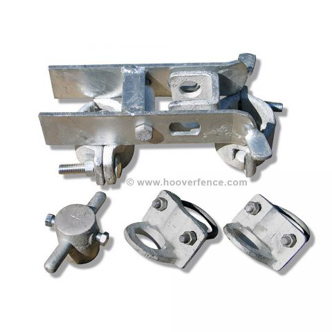 Industrial Chain Link Fence Drop Rod and Latch Kit, Imported (H-0200)