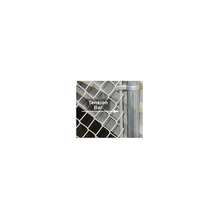 Chain Link Tension Bars Galvanized Hoover Fence Co