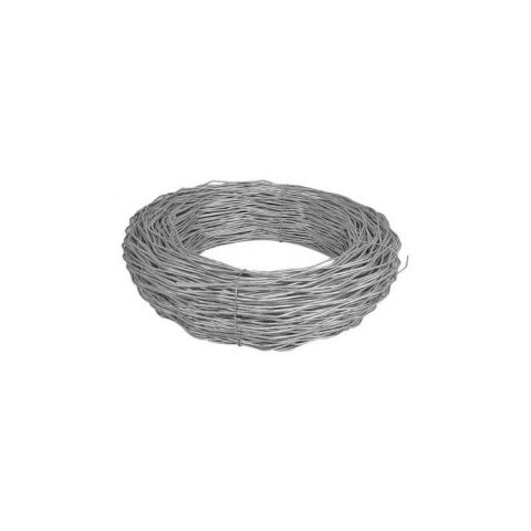 7ga. Aluminized Chain Link Fence Spiral Tension Wire - 1000' Roll