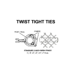 Twist Tight Preformed Steel Tie Wires