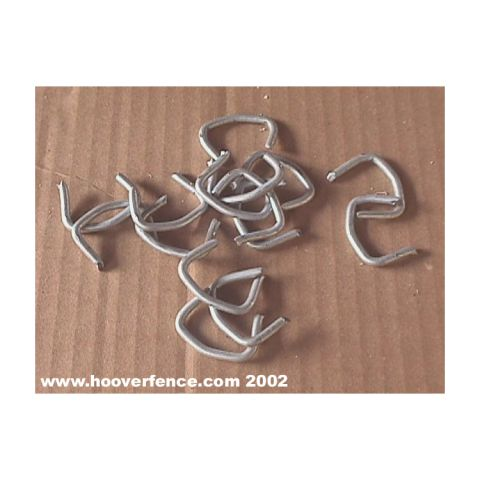 Chain Link Fence Hog Rings - Steel