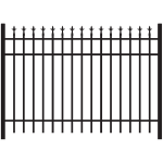 Jerith #111 Aluminum Fence Section (JX-111-S)