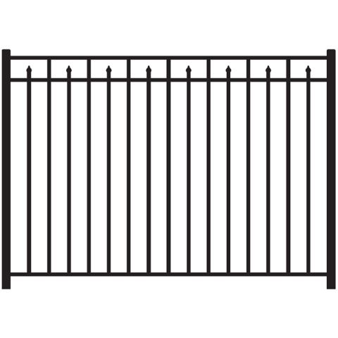 Jerith #200 Modified Aluminum Fence Section
