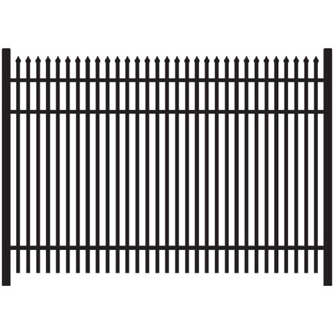 Jerith Legacy #401 Aluminum Fence Section