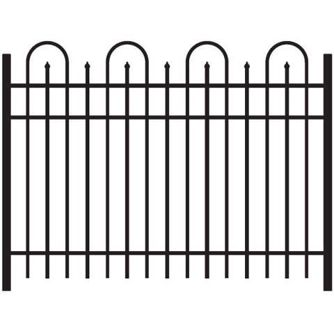 Jerith Legacy Concord #101 Aluminum Fence Section