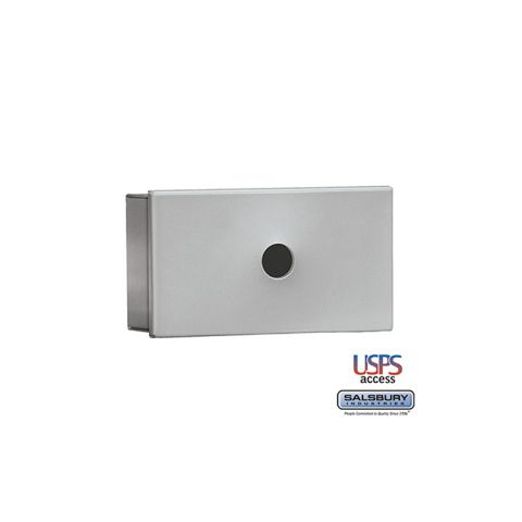 Salsbury Key Keeper, surface mounted aluminum finish, USPS access