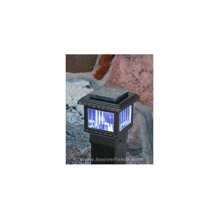 Aurora Deck Lighting Polaris Solar Mini Lighting Post Cap