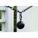 Snug Cottage Hardware Cannonball Closer - Black (CBP)