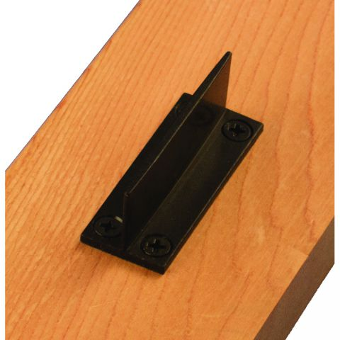 Snug Cottage Hardware Floor Mounted Fin Guide (for interior applications)
