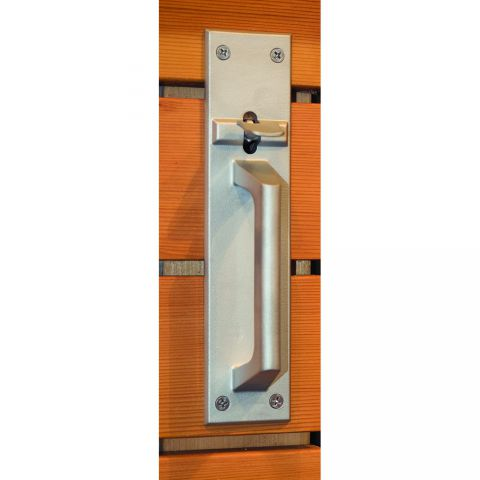Snug Cottage Hardware Suffolk Latches for Wood Gates - Stainless Steel