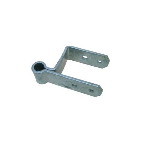 "Snug Cottage Hardware Heavy Duty Double Strap Hinges for 3"" Thick Wood Gates - Straight Eye, Each"