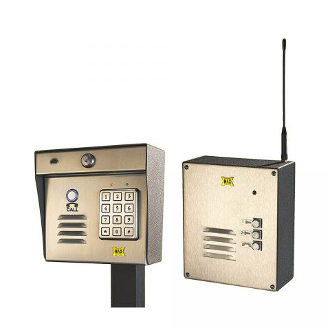 Maximum Controls AeroMax 200K-100S Wireless Intercom/Keypad with 100S Indoor Surface-Mount Station