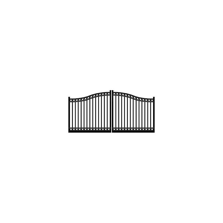 Ideal #8330 Double Swing Gate, with Top & Bottom Rings