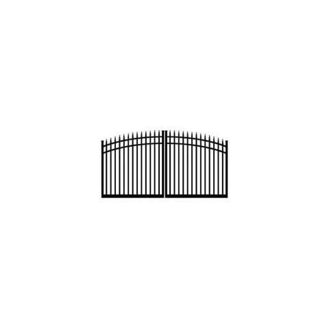 Ideal #8610 Double Swing Estate Gate