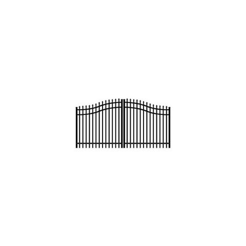 Jerith Aluminum Double Swing Estate Gate Style #E101