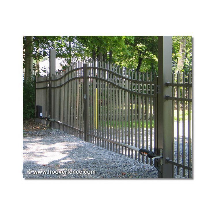 Jerith Double Swing Estate Gate Style E101 Hoover Fence Co