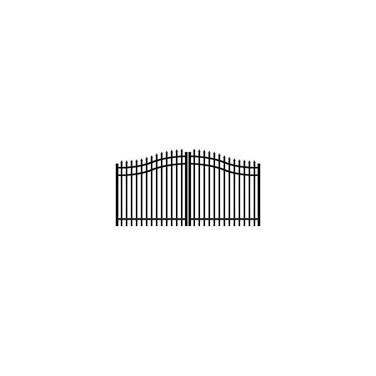 Jerith Double Swing Estate Gate Style #111 w/Finials